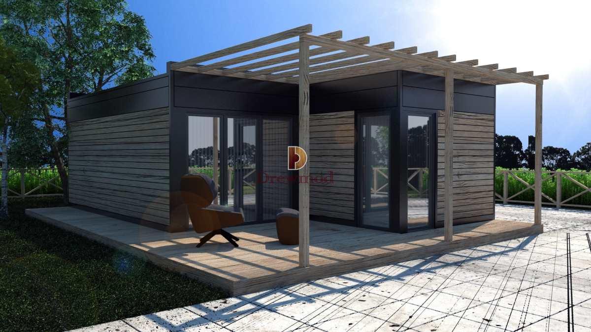 Domy Modułowe Nowoczesne Z Drewna Drewmod